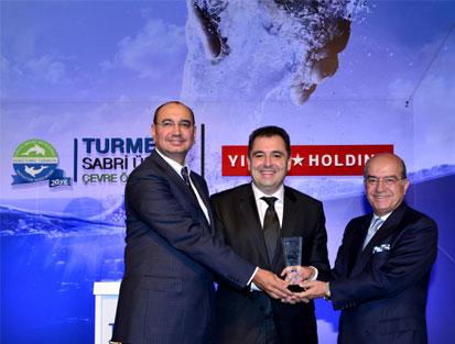 2. TURMEPA Çevre Ödülü akıllı sulama sistemine gitti