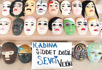 Kadina Siddeti Anlatan Maskeler