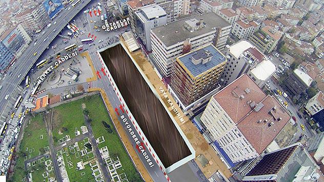 İstanbul'da metro çalışması nedeniyle trafik düzenlemeleri