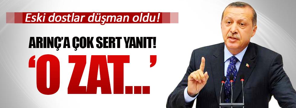 Erdoğan'dan Bülent Arınç'a sert yanıt: O zat...