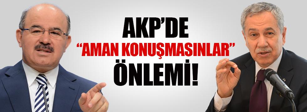 AKP'de Arınç ve Çelik için flaş karar