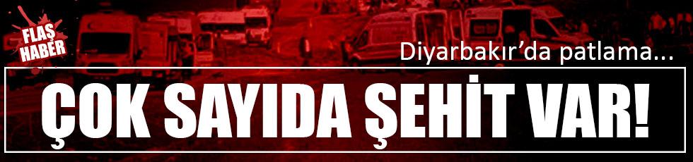 Diyarbakır'da patlama:6 şehit var