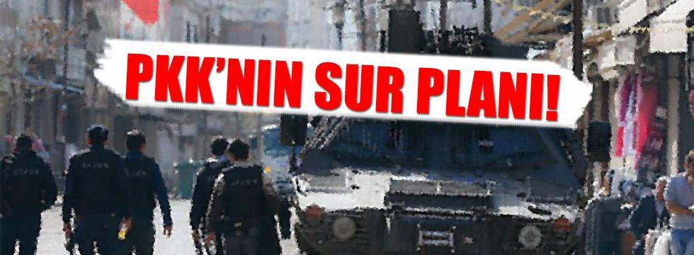 PKK'dan hain Sur planı