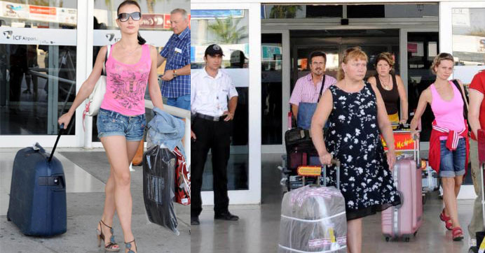 Rus turistler 10'uncu sıraya geriledi