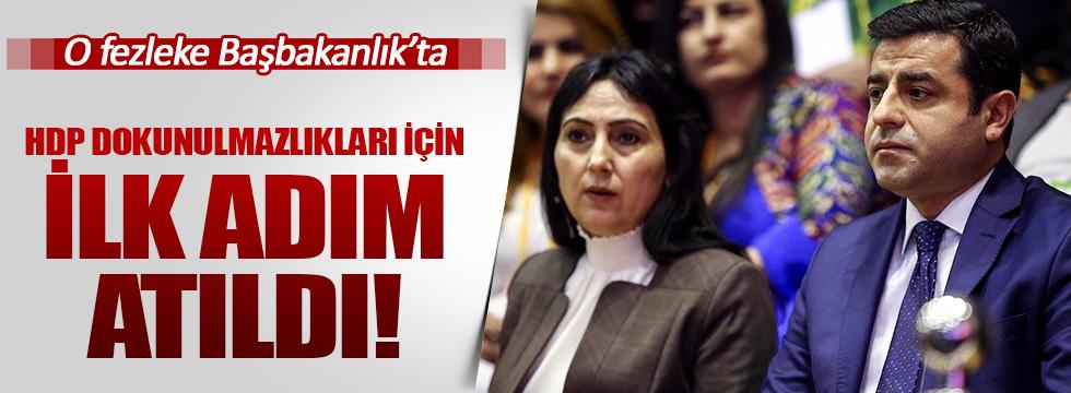 HDP'lilerin fezlekesi Başbakanlık'ta