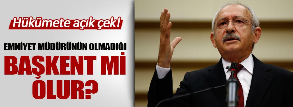 Kılıçdaroğlu'ndan hükümete açık çek!