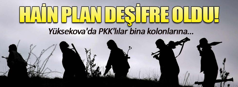 PKK'lı teröristlerden hain plan!