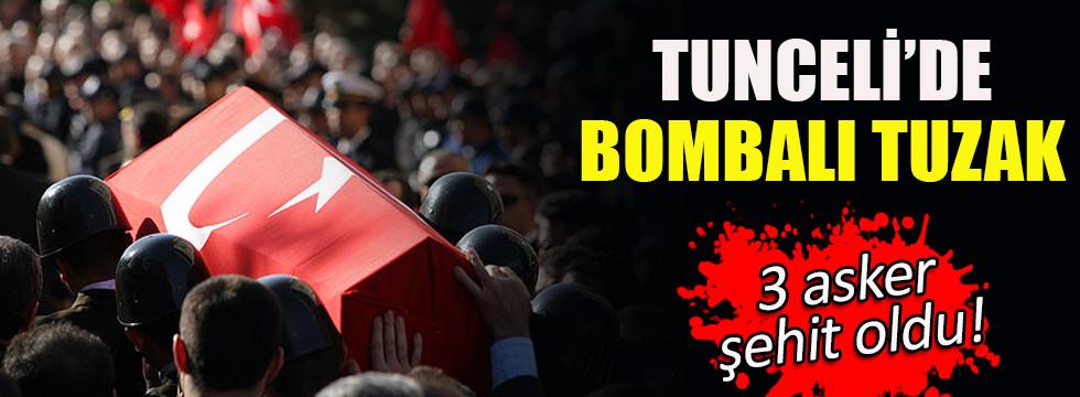 Tunceli'de askeri araca hain tuzak! 3 şehit