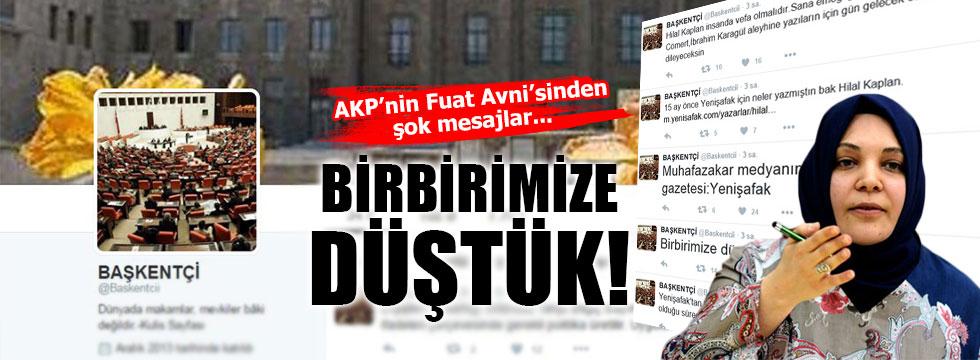 AKP'nin Fuat Avni'sinden şok twitler!