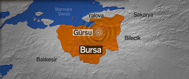 Bursa'daki deprem İstanbul'u korkuttu!