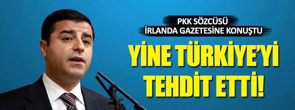 PKK Sözcüsü, İrlanda gazetesine konuştu!