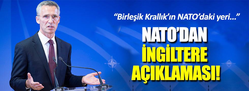 NATO, İngiltere'nin AB kararını yorumladı!