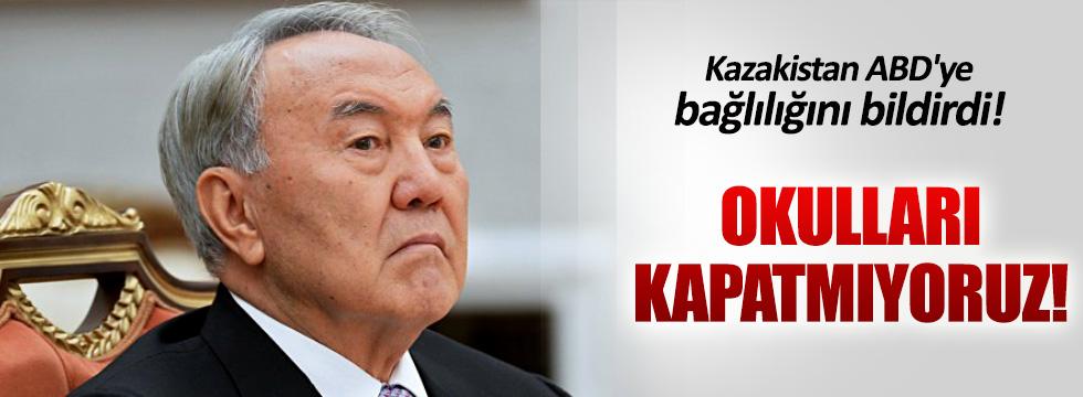 Kazakistan 'FETÖ okullarını kapatın' talebini reddetti