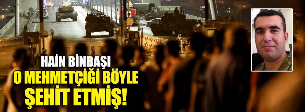 Er Kurtuluş Kaya'yı darbeci binbaşı Ahmet Taştan gözünden vurmuş