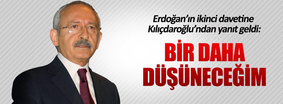 Erdoğan'ın Yenikapı davetine Kılıçdaroğlu'ndan yanıt geldi