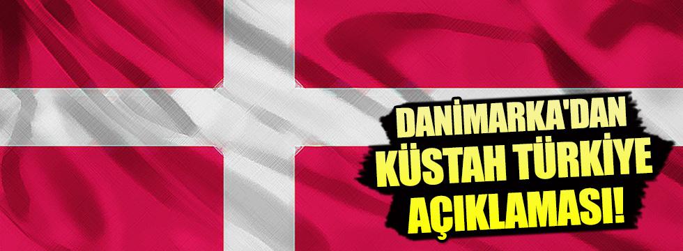 Danimarka'dan küstah Türkiye açıklaması