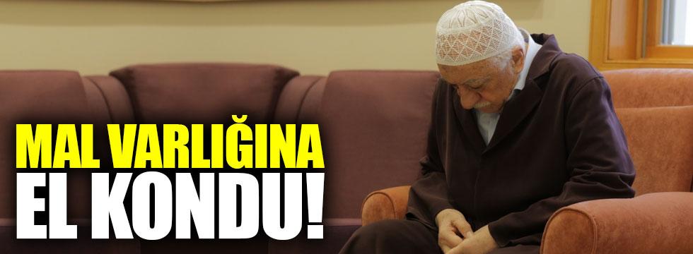 Gülen'in mal varlığına el kondu