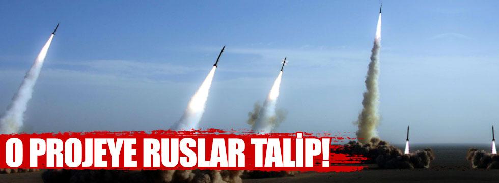 Füze savunma sistemi projesine Ruslar talip