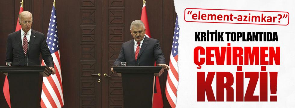 Biden'in Toplantısında Çevirmen Krizi
