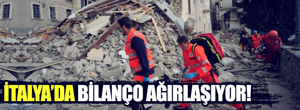İtalya'da depremin bilanço ağırlaşıyor
