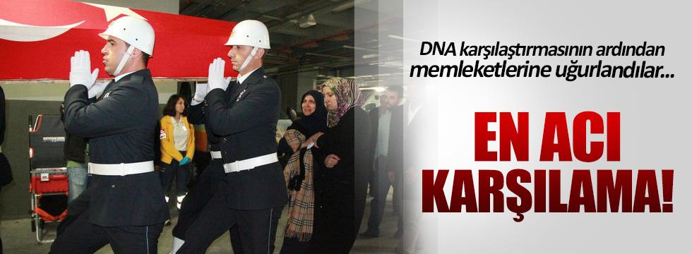 Cizre şehidi Mehmet Dama'nın da cenazesi memleketine gönderildi