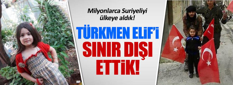 6 yaşındaki Türkmen Elif için sınır dışı iddiası