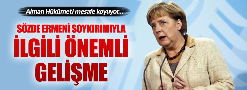 Alman Hükümeti, sözde Ermeni soykırımı kararına mesafe koyuyor
