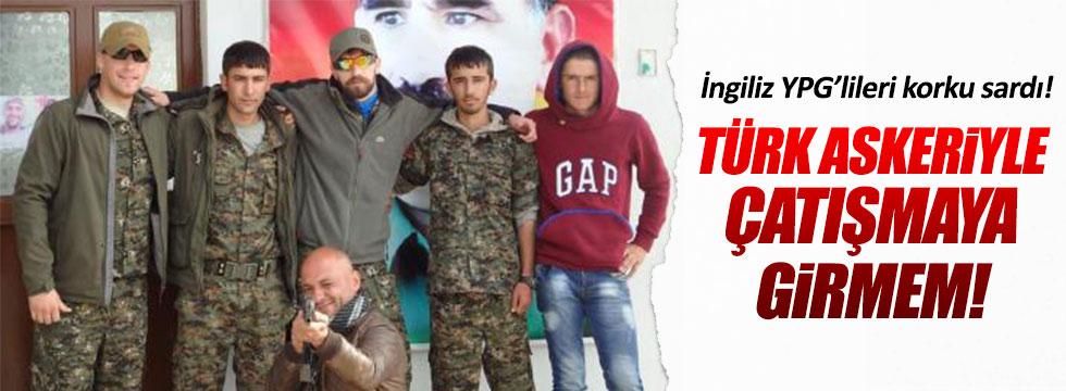 YPG'li İngilizler tutuştu