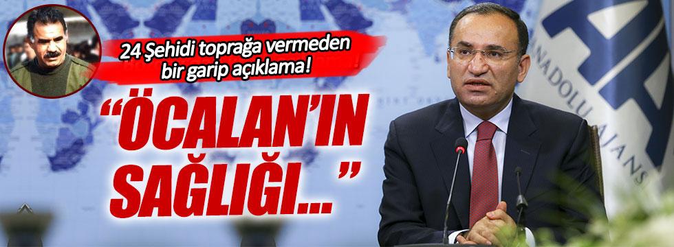 Bozdağ: Öcalan'ın sağlık durumu iyi