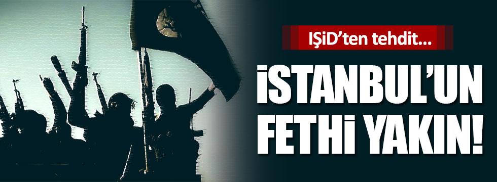 """IŞİD: """"İstanbul'u feth edeceğiz"""""""