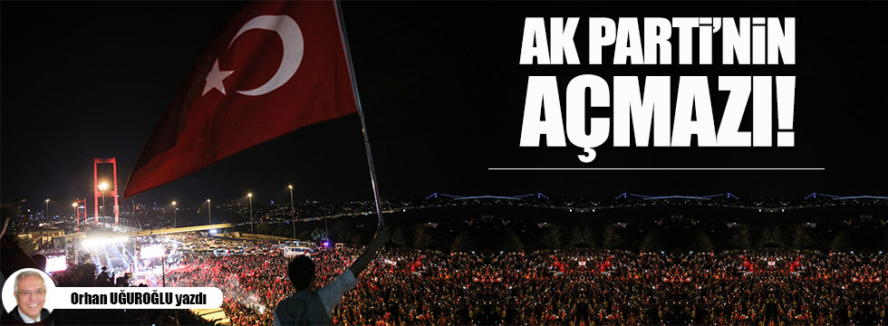 AK Parti'nin çıkmazı