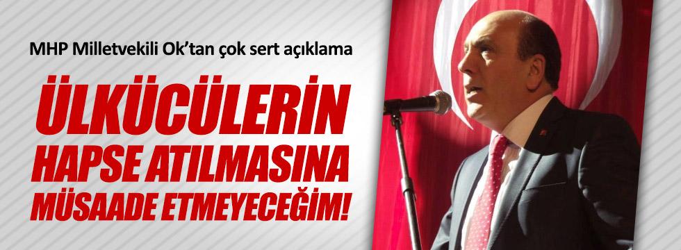 MHP Milletvekili İsmail Ok: Gözaltıları Şiddetle Kınıyorum