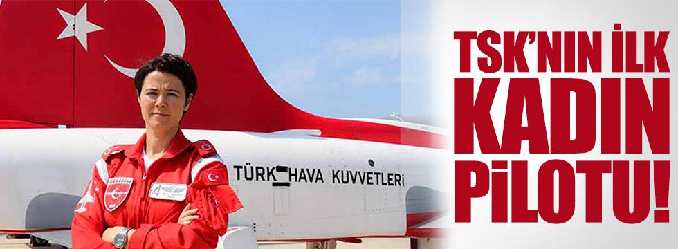 TSK'nın ilk kadın pilotu Esra Özatay