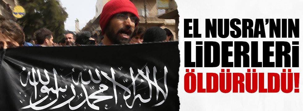 El Nusra'nın üç üst düzey komutanı öldürüldü