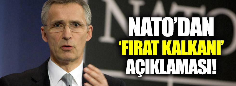 NATO'dan Fırat Kalkanı açıklaması