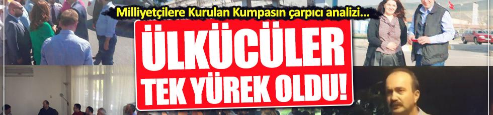 Cüneyt Öztürk, Milliyetçilere kurulan kumpası yorumladı