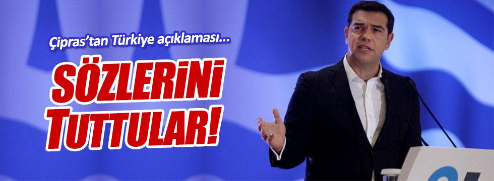 Çipras: Türkiye bize verdiği sözü tuttu
