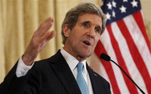 Kerry'den, Suriye açıklaması