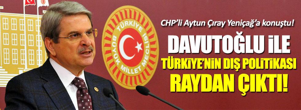 CHP'li Aytun Çıray, AKP'nin Kürt devleti için yol açtığını söyledi