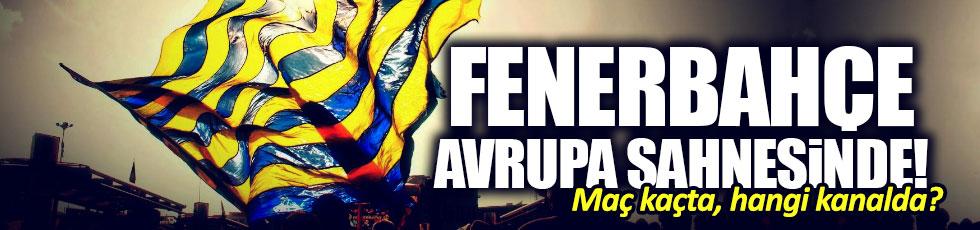 Zorya Luhansk-Fenerbahçe maçı saat kaçta? hangi kanalda?