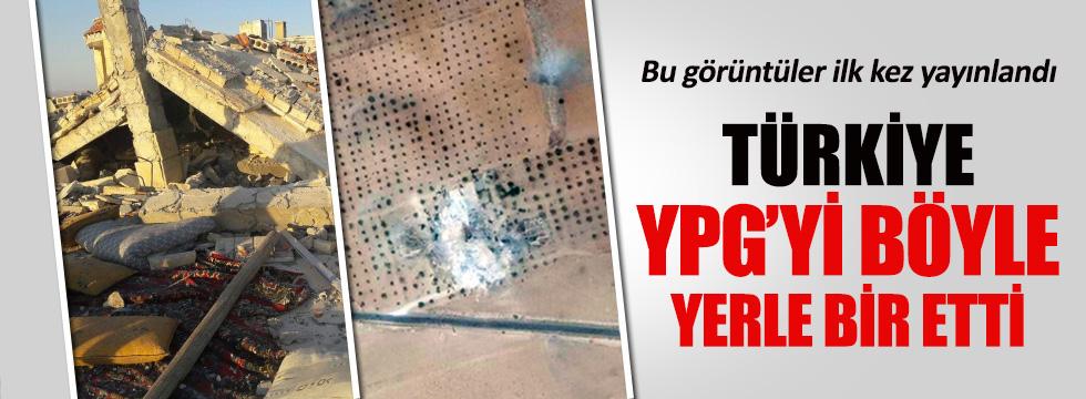 Türkiye YPG'yi böyle yerle bir etti