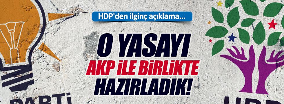 HDP'li Baluken'den, AKP açıklaması