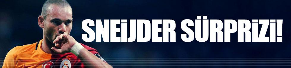 Sneijder'den büyük fedakarlık