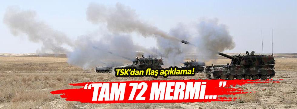 TSK'dan operasyon açıklaması