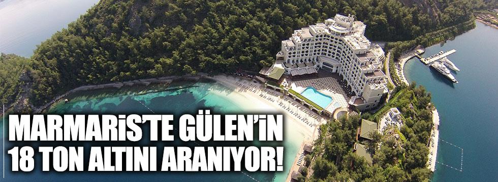 Marmaris'te Gülen'in 18 ton altını aranıyor