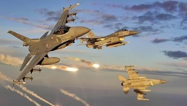 TSK'dan Suriye'ye hava harekatı!