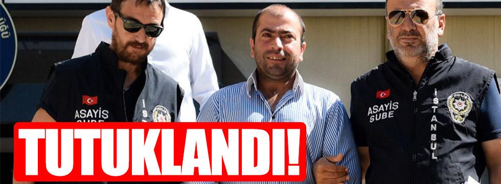Şort saldırganı Çakıroğlu tutuklandı