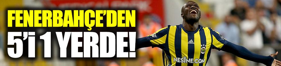 Fenerbahçe, Kasımpaşa'ya patladı