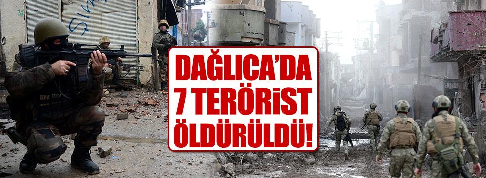 Dağlıca'da 7 PKK'lı öldürüldü