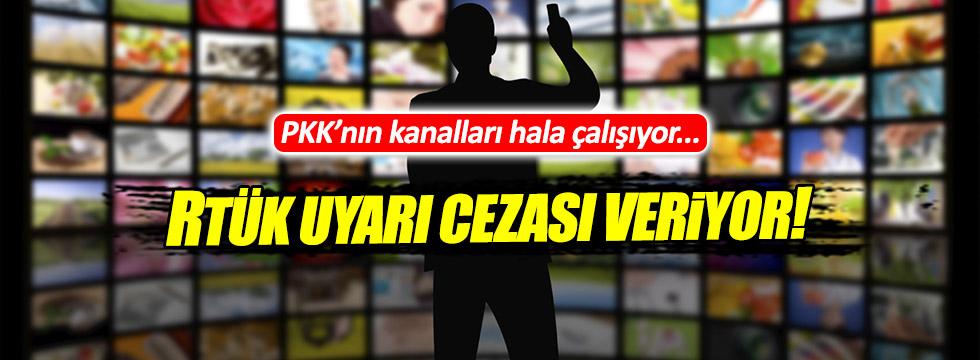 RTÜK'ten PKK'nın kanallarına komik ceza